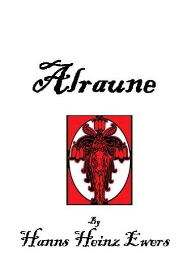 cover to Alraune by Hanns Heinz Ewers trans by Joe Bandel