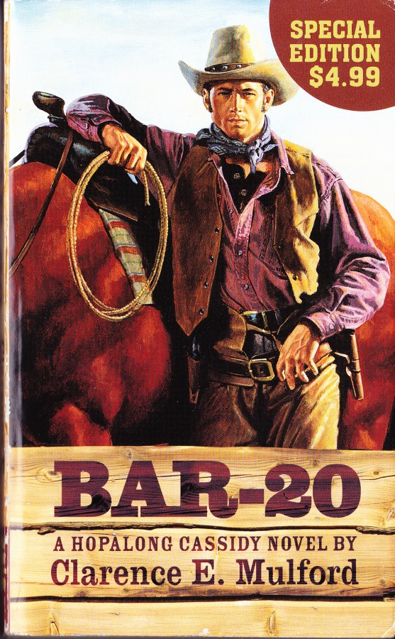 cover to Bar-20 by Clarence E Mulford