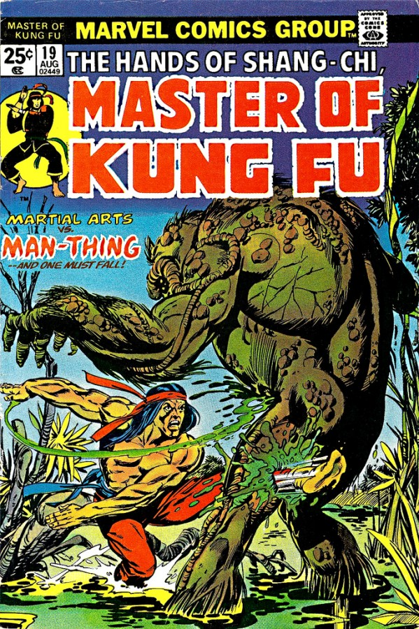 cover to Master of Kung Fu Vol 1 no 19