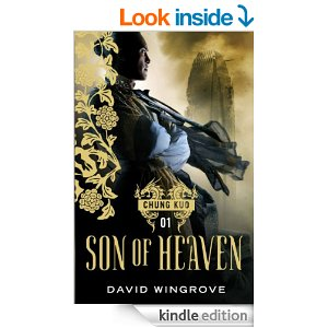 cover to Kindle ed of Chung Kuo Son of Heaven by David Wingrove