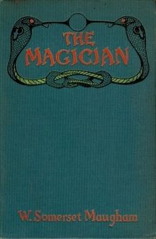 cover to The Magician by W Somerset Maugham