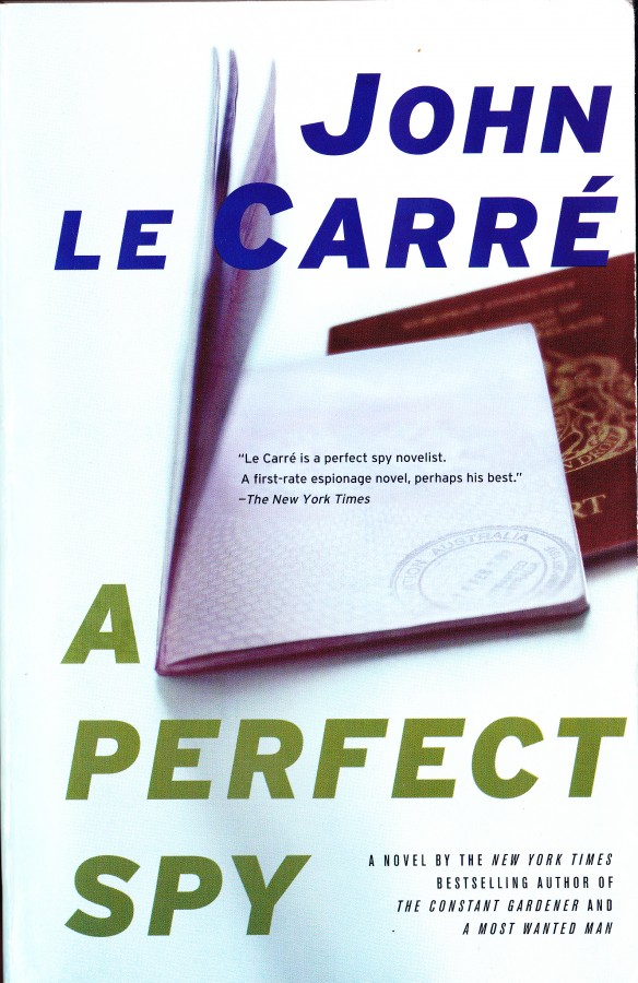 cover to A Perfect Spy by John le Carre