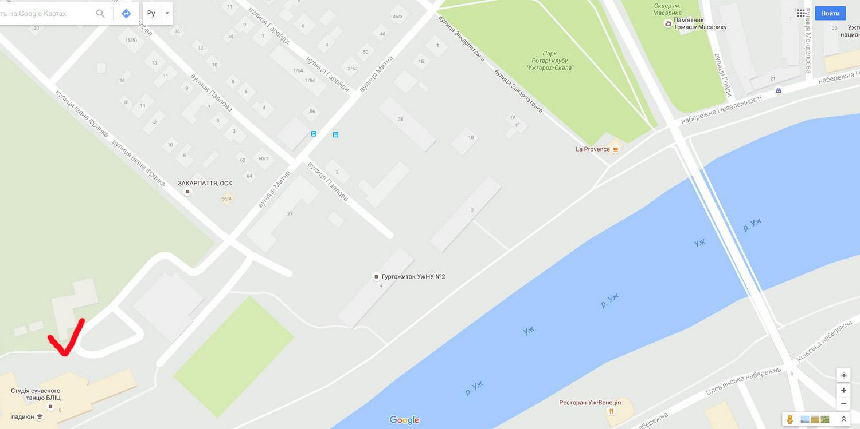 Энди Уорхол Ужгород карта