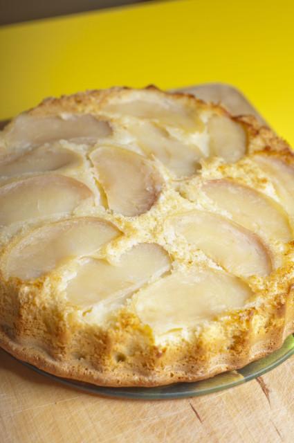 Пирог с заварным кремом пошагово