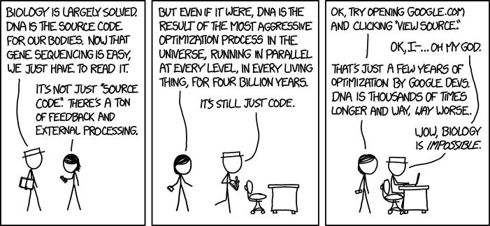 О проблемах генетики