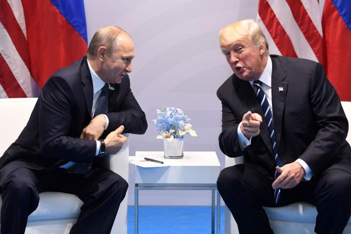 О Путине и Трампе на Г20