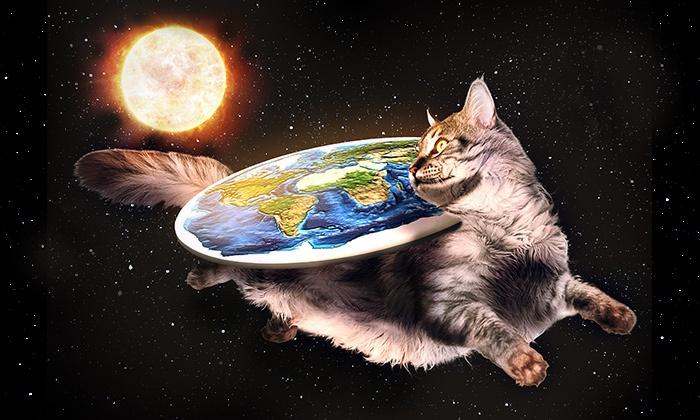 Об обществе плоской Земли