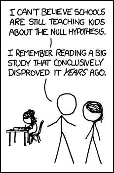 О нулевой гипотезе
