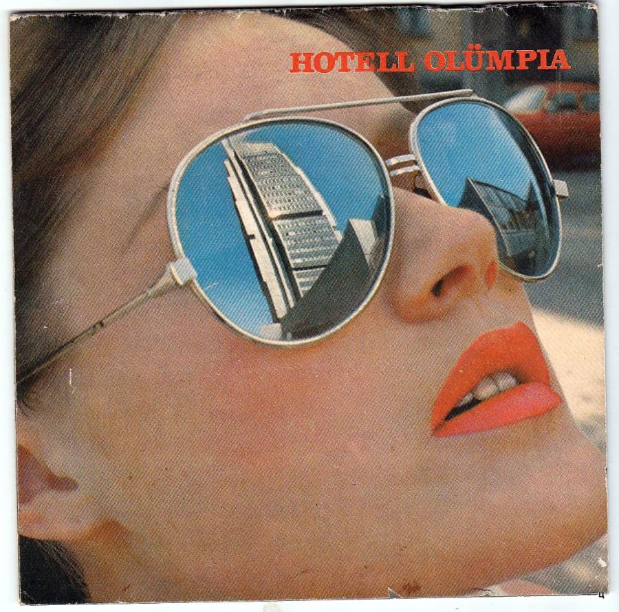"""Запад он и в СССР Запад! Рекламный буклет гостиницы """"Олимпия"""", Таллин,  1985 год"""