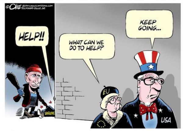 12 карикатур про Россию, Украину и Крым 3