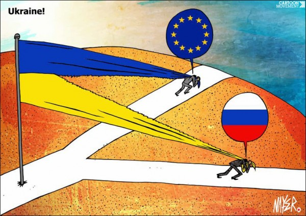 12 карикатур про Россию, Украину и Крым 7
