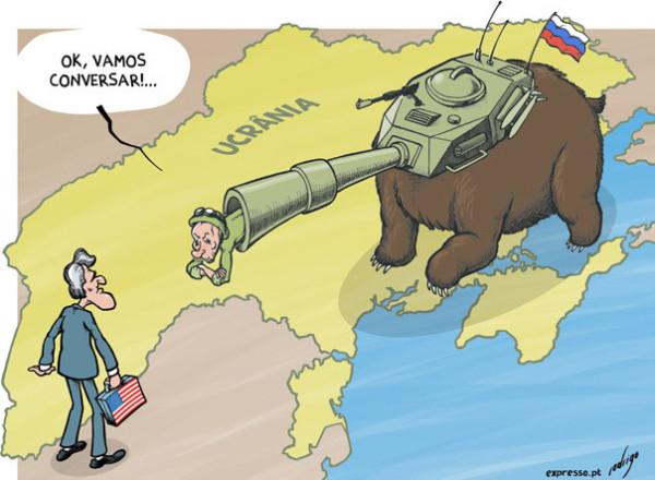 12 карикатур про Россию, Украину и Крым 9