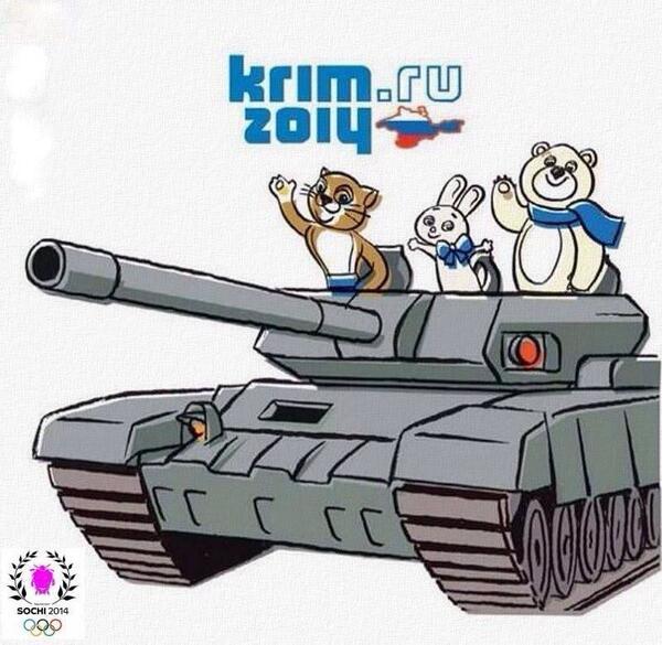 12 карикатур про Россию, Украину и Крым 10