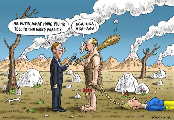 12 карикатур про Россию, Украину и Крым 11