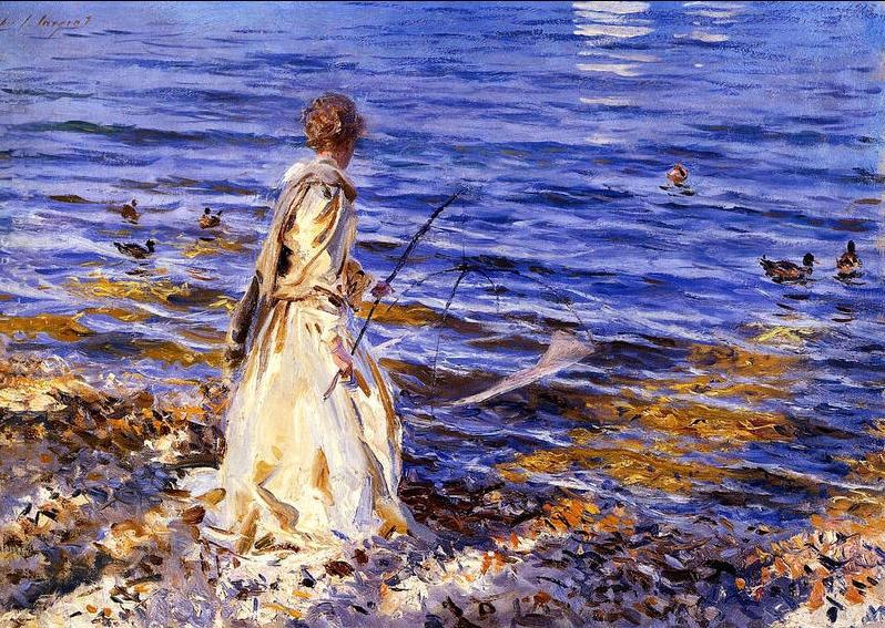 Sargent-Girl-Fishing