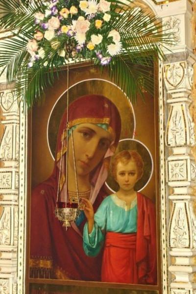Казанская икона Божией Матери. Изменения в расписании