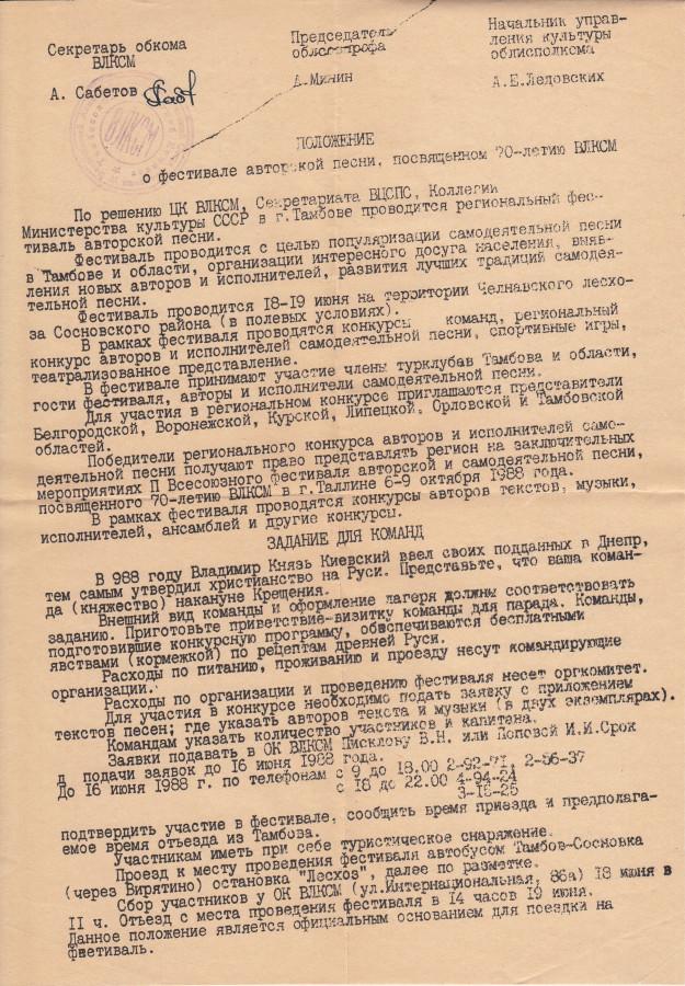 АП Тамбов КСП 1988_2