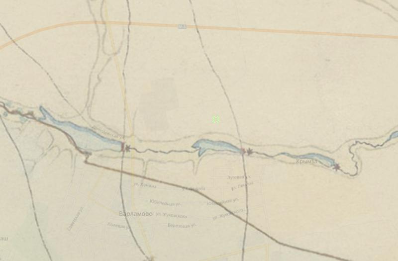 Фрагмент карты Менде