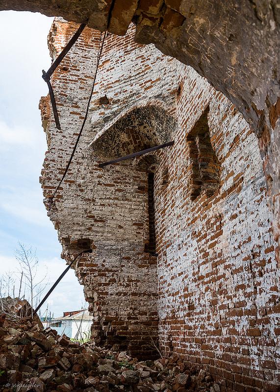 Сторожевая башня в селе Канадей