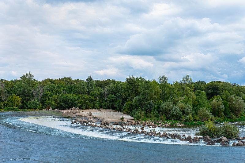 Плотина на реке Большой Иргиз близ села Малое Перекопное
