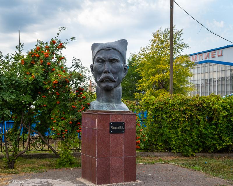 Памятник Чапаеву в Бузулуке