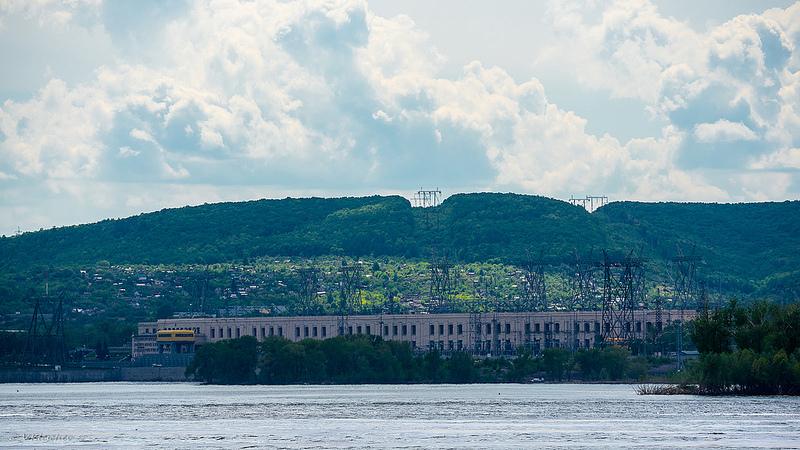 Здание Жигулевской ГЭС