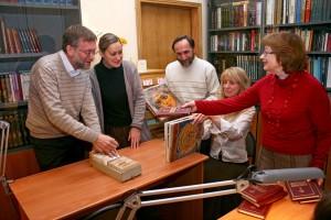сотрудники библиотеки СФИ