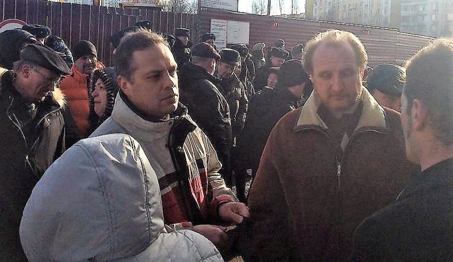 Евгений Ковалев народный сход Ясенево