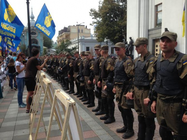 Завтра состоится прощание с погибшими под стенами Рады бойцами Нацгвардии Дмитрием Сластниковым и Александром Костыной - Цензор.НЕТ 8468