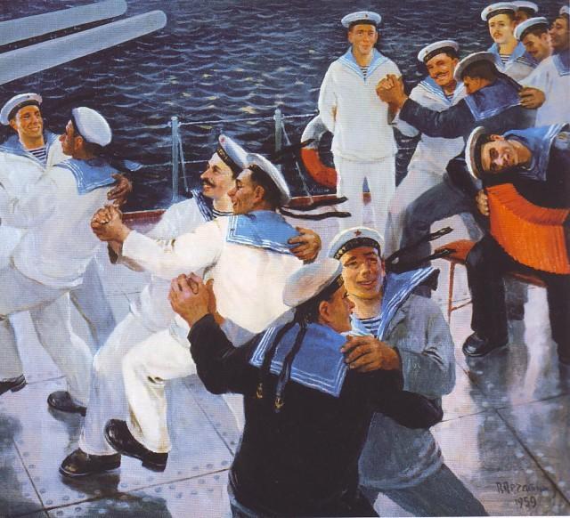 танец_моряков