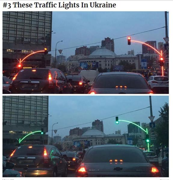 Проголосуйте за киевский светофор /Фото/