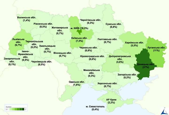 Миф о кормильцах: названы самые дотационные регионы Украины 012