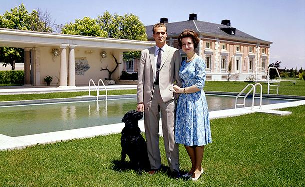Хуан Карлос с супругой Софией Греческой