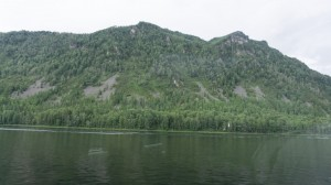 Берега Телецкого озера.