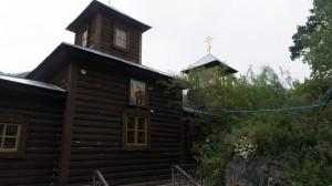 Храм Иоанна Богослова на острове Патмос на реке Катунь.