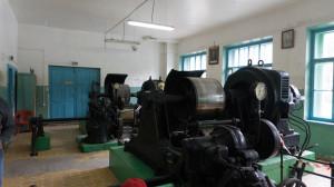 Машинный зал Чемальской ГЭС.