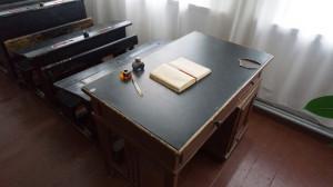 Школьный класс, в котором учился Шукшин в Сростках.