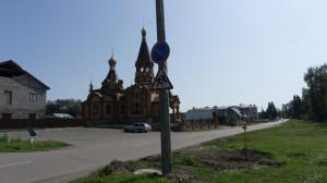 Новый храм в Сростках.