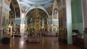 Иконостас Успенского собора в Бийске.
