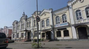 Улицы старой части Бийска замечательны.