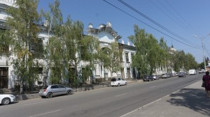 Бийск. Улица Льва Толстого.