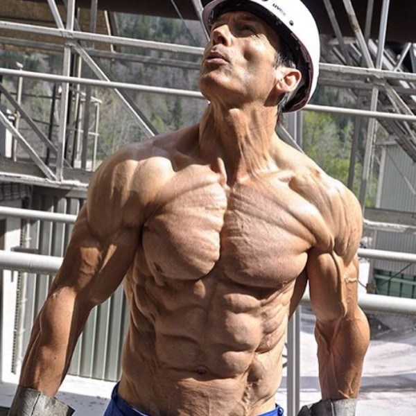 Мышцы без жира.