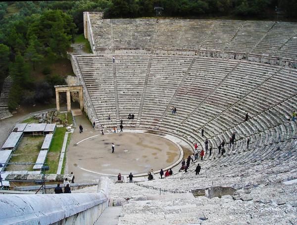 Античный театр в Эпидавре, Греция.