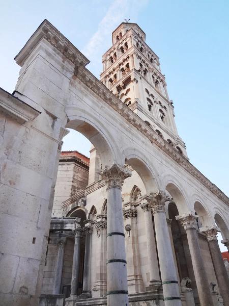 Дворец Диоклетиана, Сплит, Хорватия.