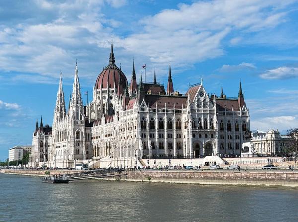 Здание парламента, Будапешт, Венгрия.