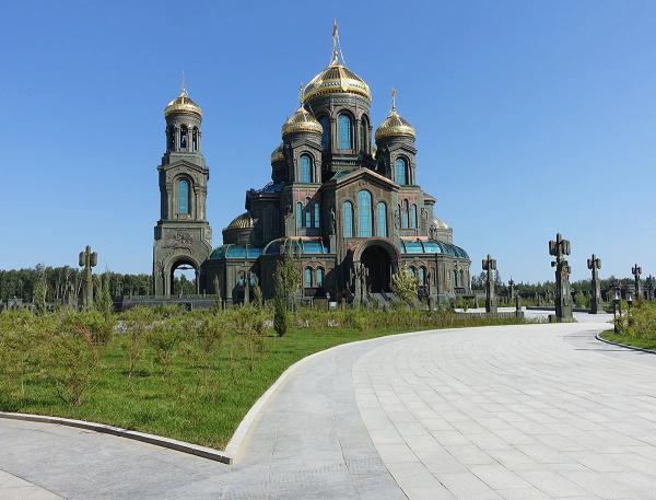 Храм Вооруженных Сил России.
