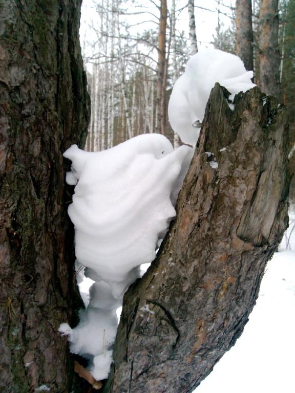 Снежный монстр...