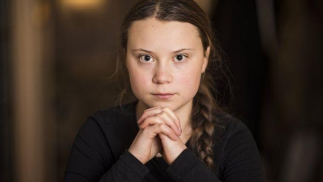 Скандинавская Святая Грета down-связь у нее встроена с рождения. Таки ребёнок-индиго