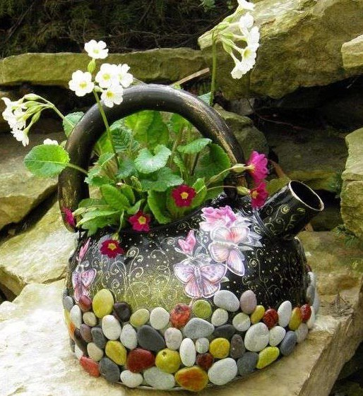 Идеи для сада своими руками мастер класс