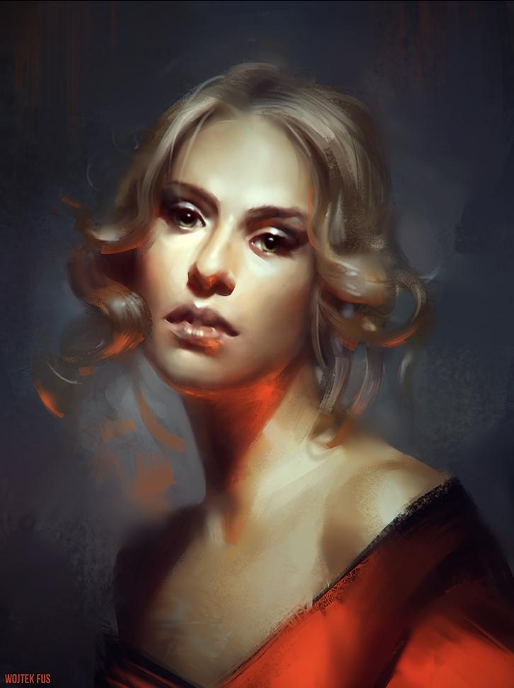 Оригинальный-портрет-by-Wojtek-Fus